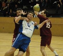Nagy Zoltán kiválóan látta el a védőfeladatát, s emellett 7 gólt lőtt (Fotó: Péter Szabó Zoltán)