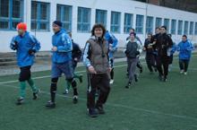 Nagyobb reményekkel indult a bajnokságnak a Schuszter (képünkön középen) vezette gárda (Fotó: Péter Szabó Zoltán)