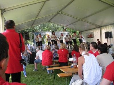 Népszerű volt a komlóiak sátra (Fotó: Péter Szabó Zoltán)