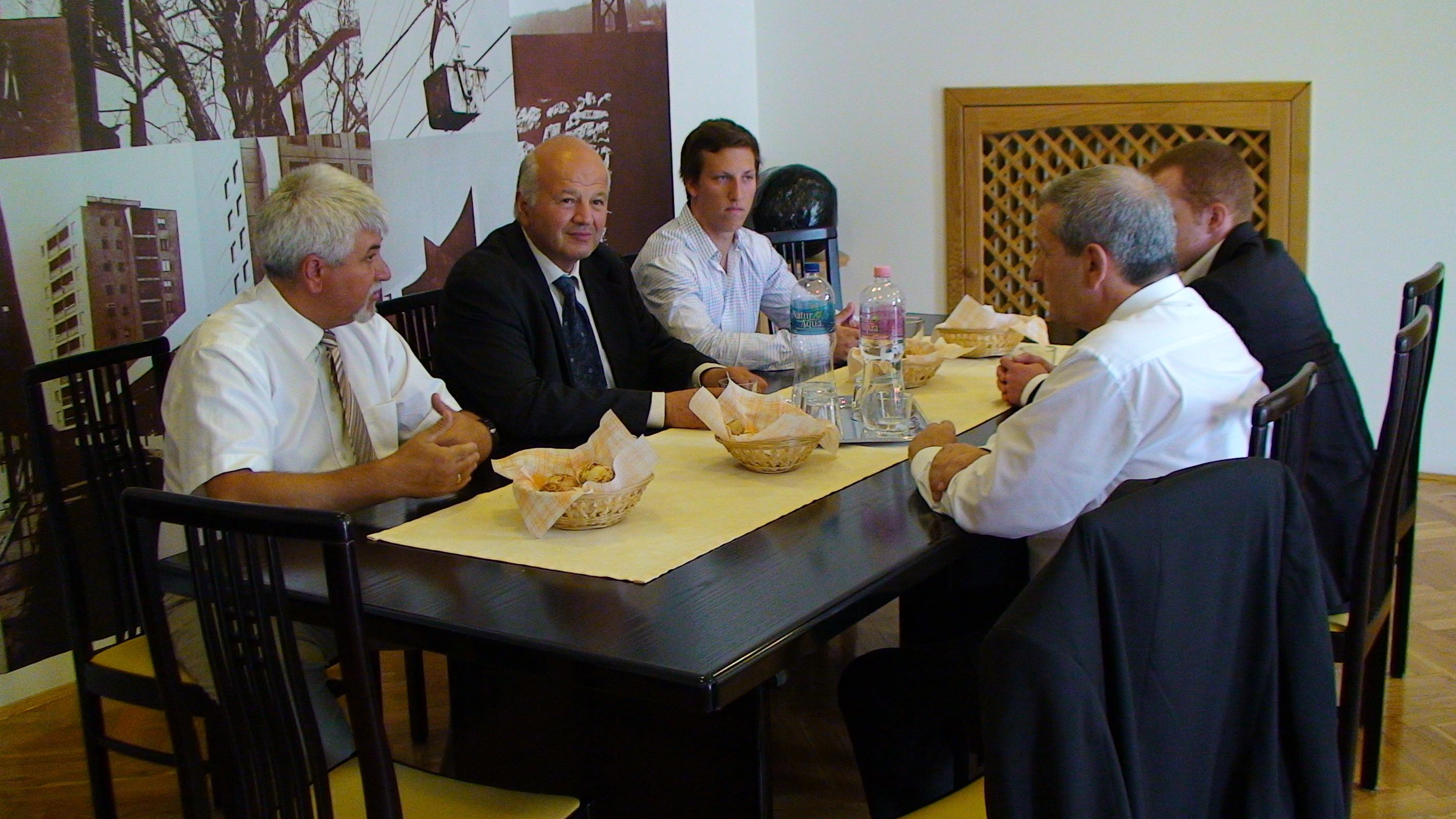 Korábban Szászországból is érkeztek vendégek
