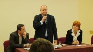 Korózs Lajos  visszásságokról beszélt