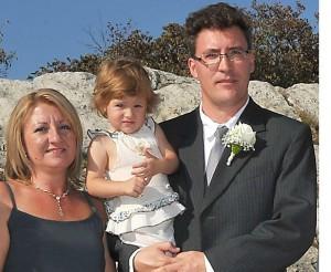 Bekk Norbert és családja