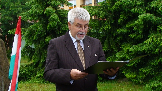 Polics József polgármester