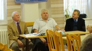 Szarka Elemér, Dr.Kiss László és Fóris Zoltán