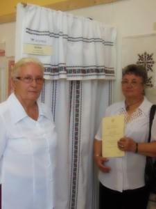 Bencze Lászlóné és Rákosa Antalné, a két külön-díjas