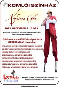 Közkincs Gála plakát 2013.