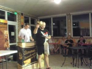 A győztes Szabó Zoltán